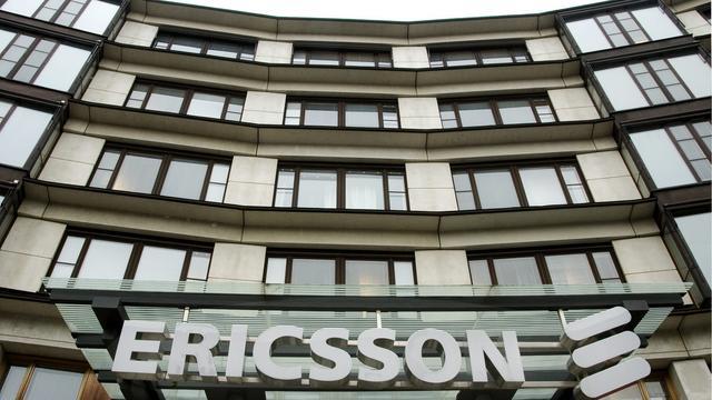 Omzetdaling voor Ericsson