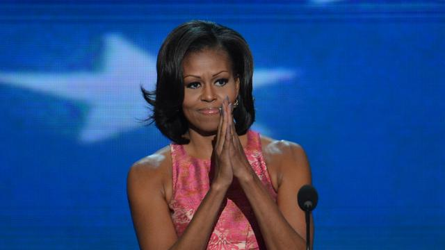 Michelle Obama op Twitter populairder dan Mitt Romney