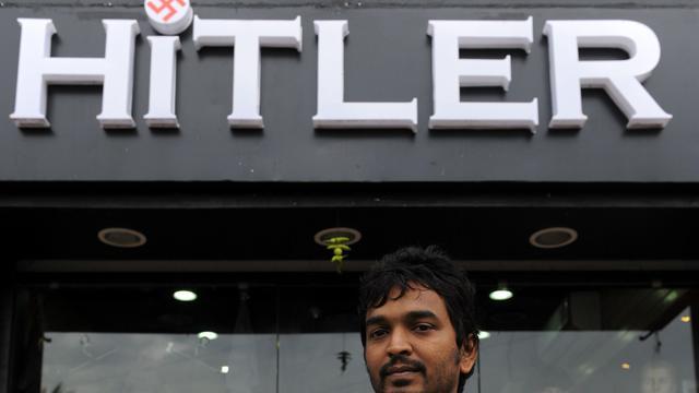Herenkledingzaak Hitler in India wijzigt naam