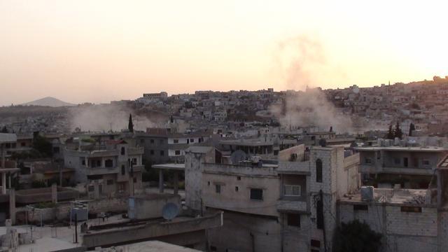 Syrische troepen bestoken rebellen