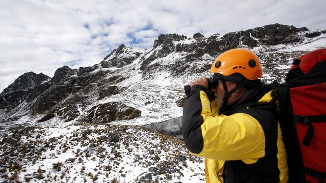 Alle inzittenden helikopter Peru dood