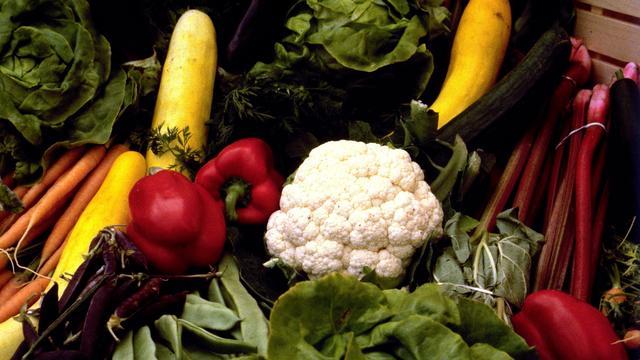 Groente en fruit supermarkten allemaal even schoon