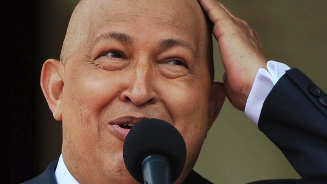 Chavez onderweg naar Venezuela na bestraling