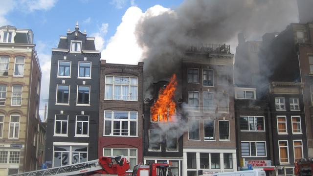 Tweede dode aangetroffen in uitgebrand pand Amsterdam