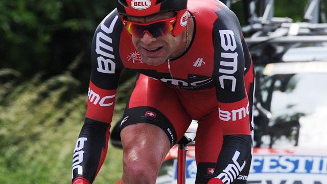 Evans maakt zich zorgen na tijdrit in Dauphiné