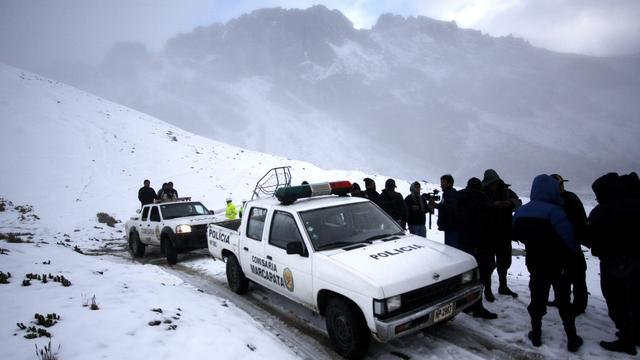 Bewoners Peru vrezen crash helikopter