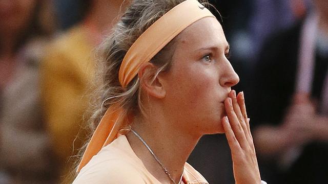Azarenka laat zich niet verrassen in Parijs