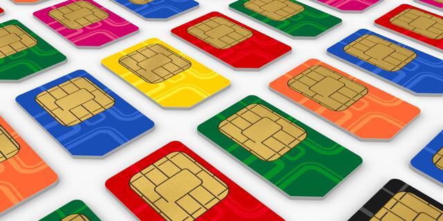 Felle strijd Apple, Blackberry en Nokia om simkaarten