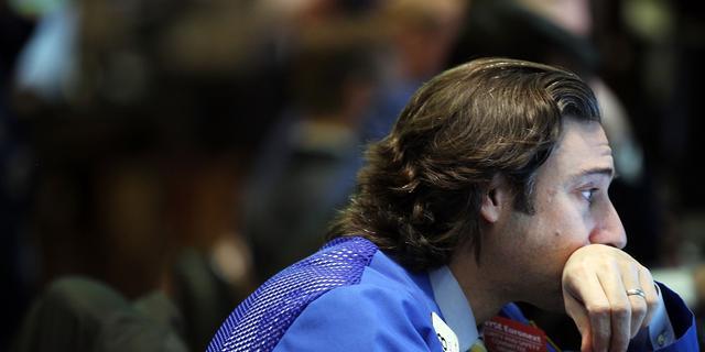 Dow Jones is winst van 2012 kwijt