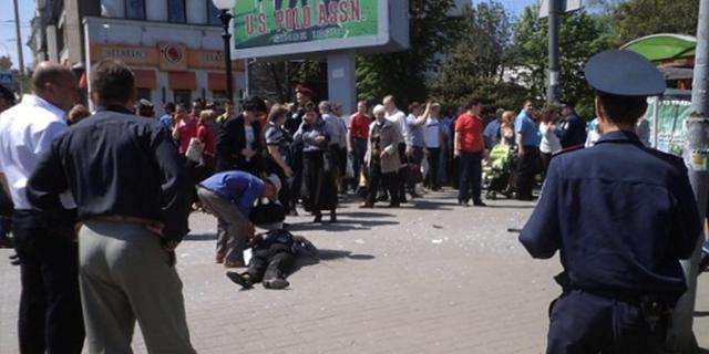 Verdachten explosies Oekraïne gepakt