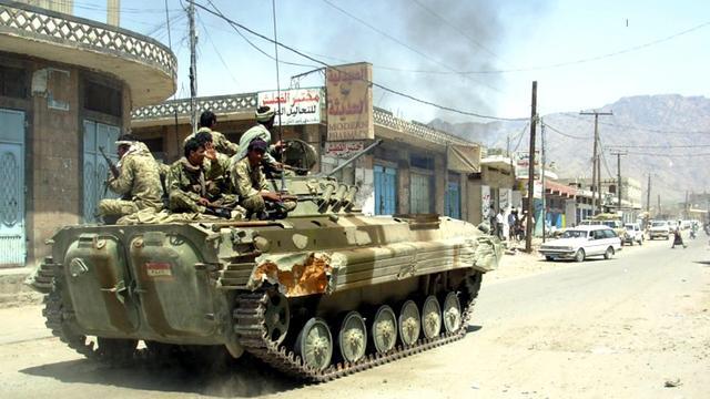 'Leger Jemen verovert stad op militante moslims'
