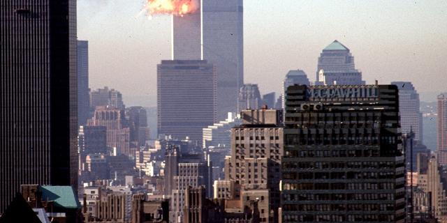 'Twin Towers ingestort door gesmolten aluminium'
