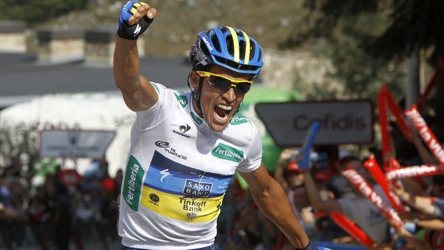Contador slaat toe in Ronde van Spanje