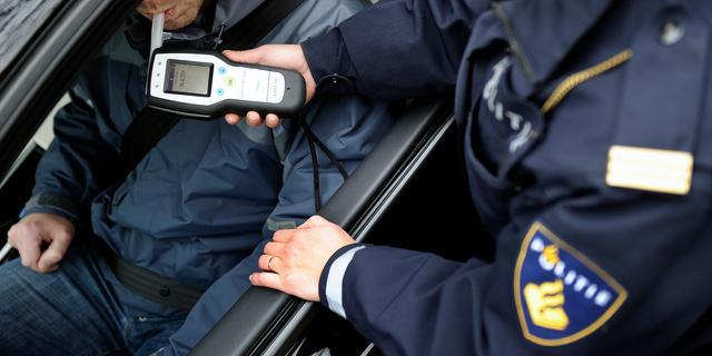 Haarlemmer in een nacht twee keer aangehouden voor rijden onder invloed