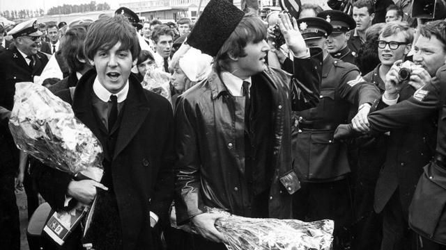 Schilderij met penissen The Beatles beschadigd