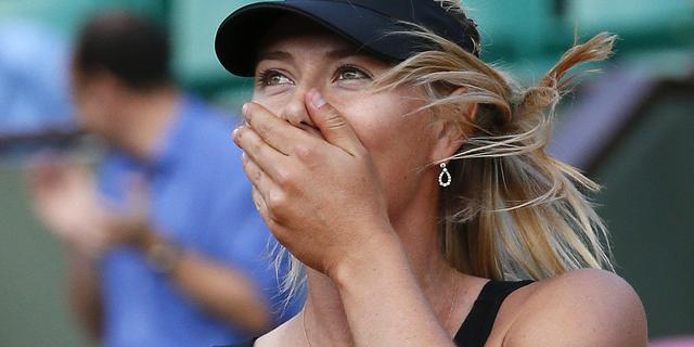 Sjarapova en Errani naar finale Roland Garros