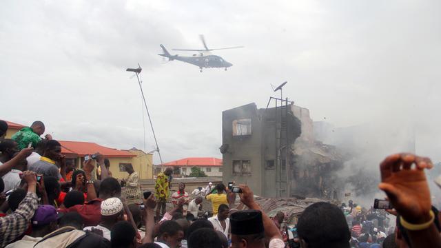 Zoeken naar slachtoffers Lagos gestaakt
