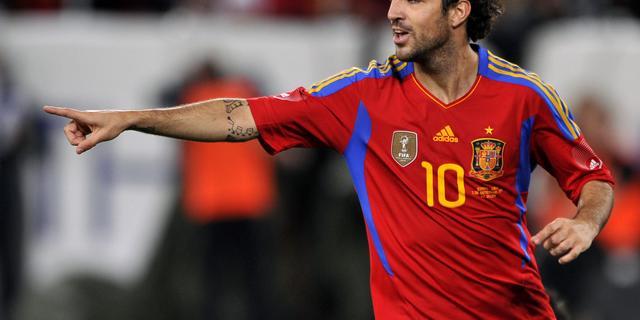 Spanjaard Fabregas waarschijnlijk tijdig fit voor EK