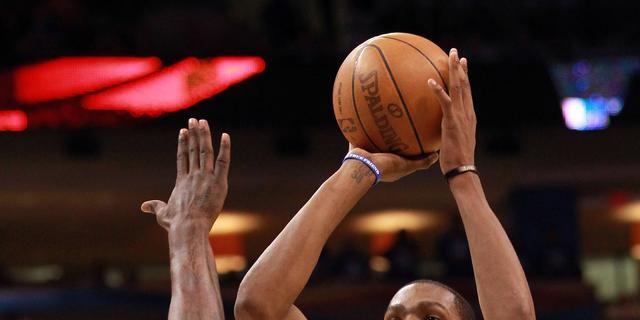Oklahoma City Thunder trekt stand gelijk in NBA