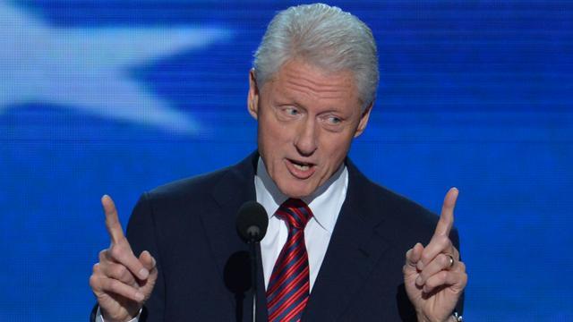 Bill Clinton strijdt voor Obama