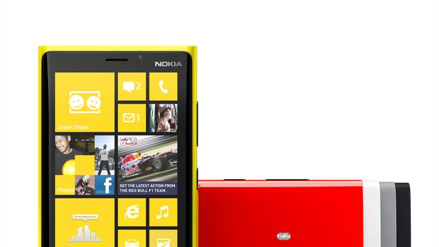 Nokia onthult Lumia 920 als 'Windows Phone 8-vlaggenschip'