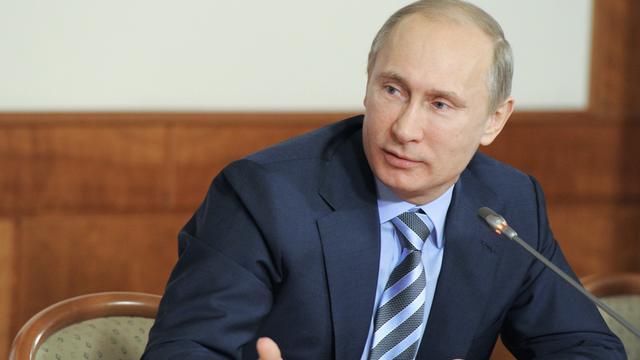 Poetin waarschuwt het Westen