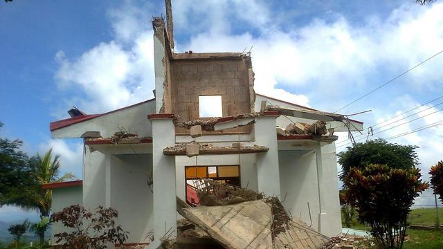 Aardbeving treft Costa Rica opnieuw