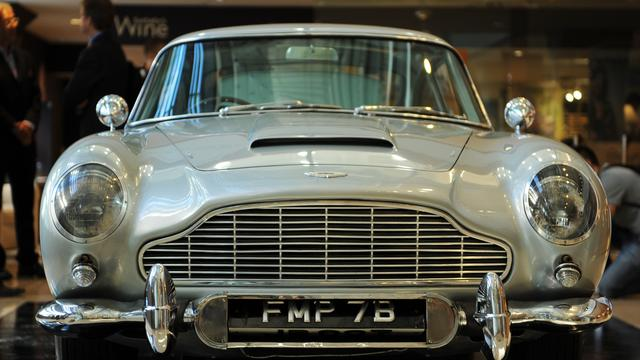 Aston Martin James Bond te koop