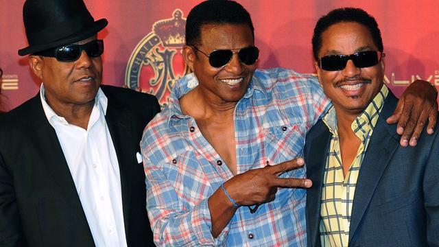 The Jacksons voor concert naar HMH