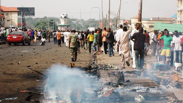 Zelfmoordaanslag bij kerk in Nigeria