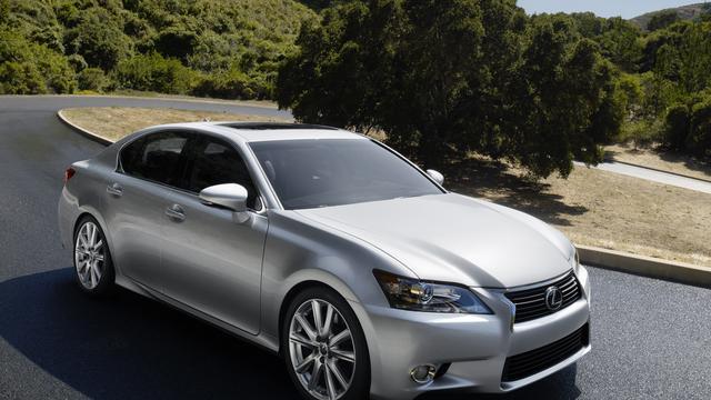 Mogelijk zuiniger Lexus GS