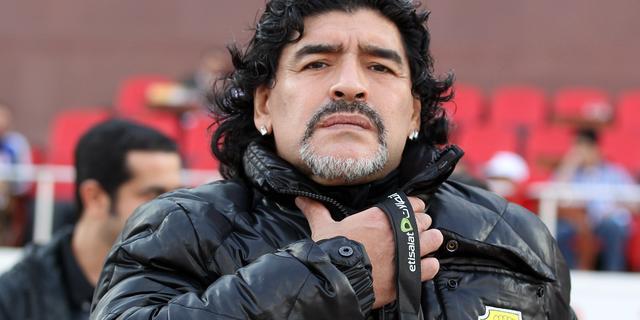 Maradona geen bondscoach Irak