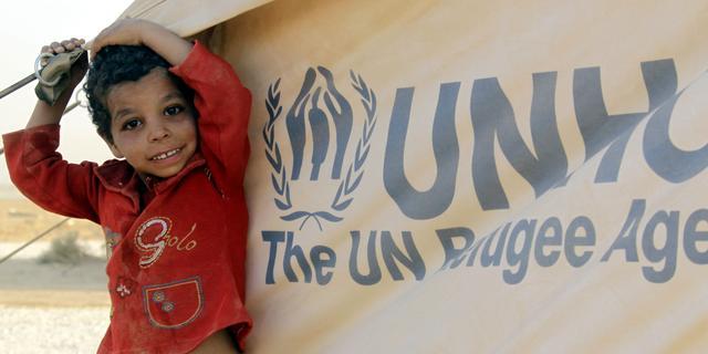 'Wereldwijd 72 miljoen ontheemden'