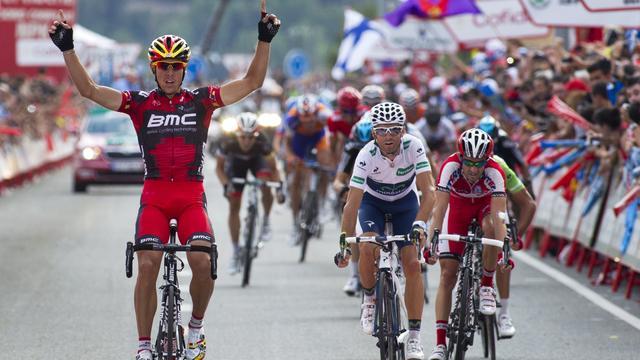 Gilbert boekt tweede etappezege in Vuelta