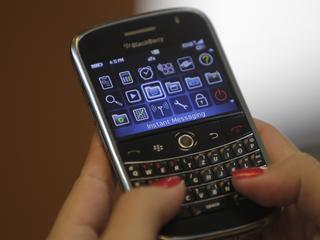 Blackberry wil de concurrentie met Whatsapp aan