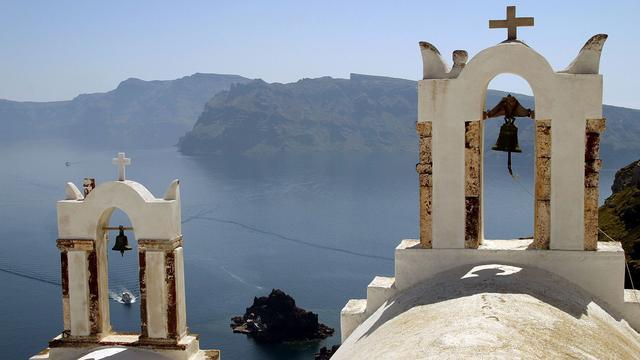 Magma duwt Grieks eiland omhoog