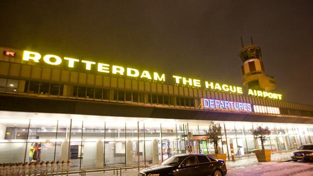 Bommelder opgepakt op vliegveld Rotterdam