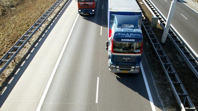 A28 bij Utrecht hele weekend afgesloten