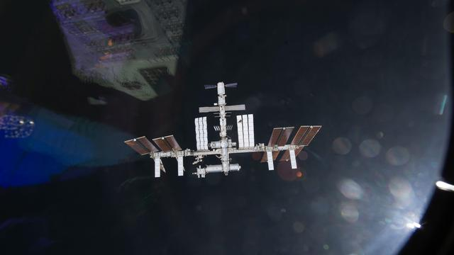 Commercieel vrachtschip naar ISS