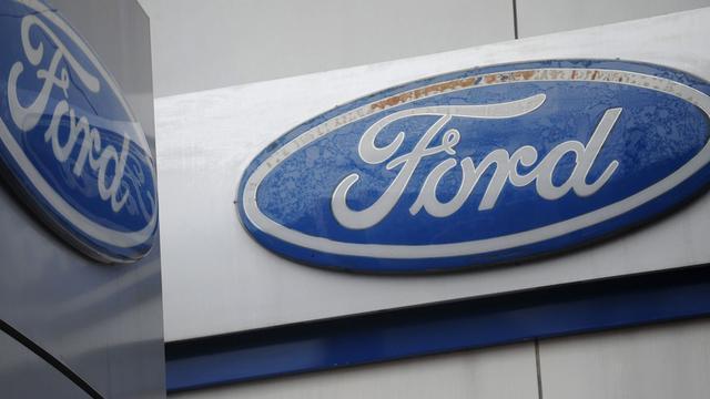 Ford ziet winst flink dalen