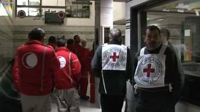 Evacuatie gewonden uit Homs mislukt