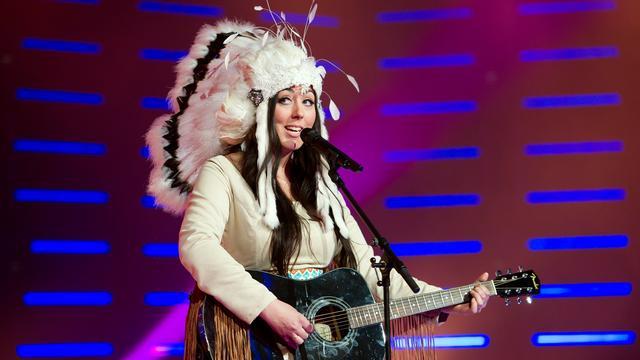 Joan Franka evenaart Eurovisiehits in hitlijst