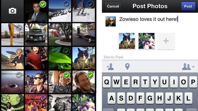Facebook lanceert eigen foto-applicatie