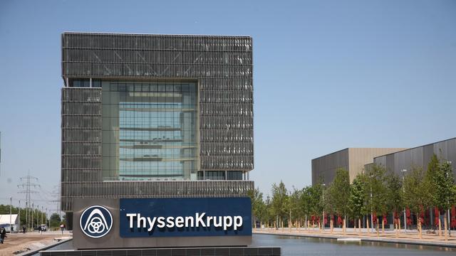 Staalfabrikant Thyssenkrupp ziet hogere winst