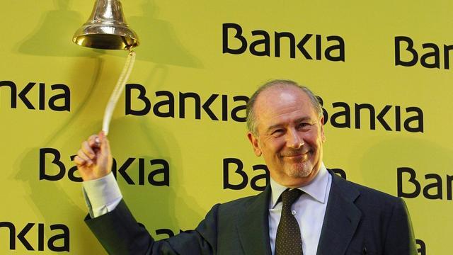 Beurshandel in noodlijdend Bankia opgeschort