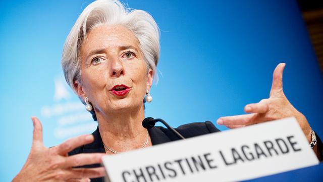 Geen onderzoek justitie tegen Christine Lagarde