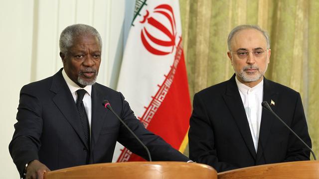 VN-gezant Annan in Syrië aangekomen