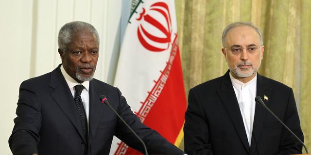 'Annan moet falen vredesplan verkondigen'