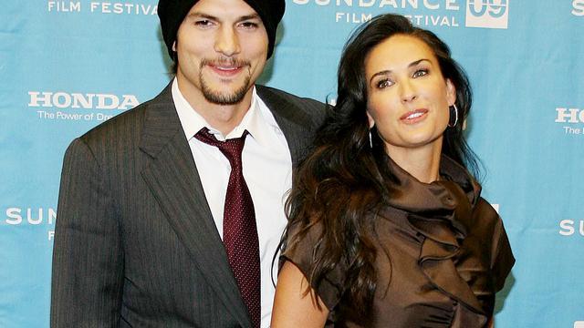 'Nog geen scheidingsprocedure Ashton Kutcher en Demi Moore'