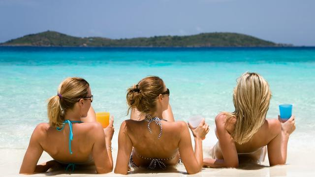 Verkeer vanaf stranden rustig